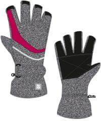 Loap dětské lyžařské rukavice RUFUS