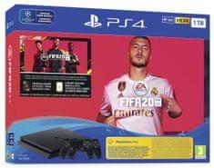 Sony PlayStation 4 Slim, 1 TB igraća konzola + igra FIFA 20 + Dualshock 4