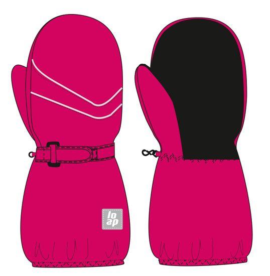 Loap dívčí palčáky RUBYK 1 - 2 růžová
