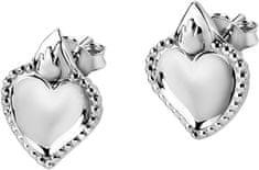 Morellato Acél szív fülbevalók Devotion SARJ14