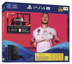 Sony PlayStation 4 Pro, 1 TB igralna konzola + igra FIFA 20 + koda FUT