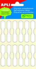 Apli Etikety na klenoty, 10 x 49 mm, 4 listy, 48 ks