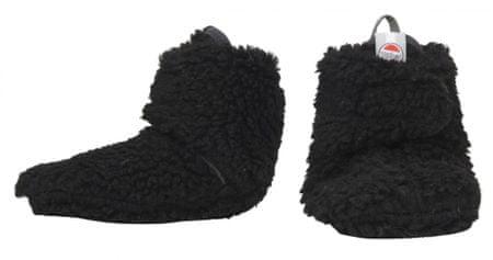 Lodger dětské capáčky Slipper Teddy 15 černá
