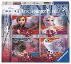 Ravensburger Puzzle 30194 Disney Ľadové kráľovstvo 2 4v1