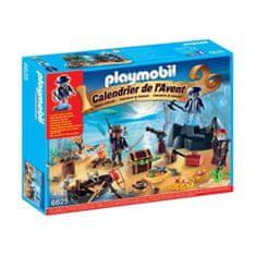 Playmobil adventní kalendář Pirátský ostrov