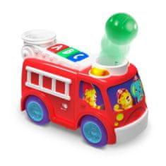 Bright Starts hasičské autíčko s míčky