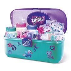 Canal Toys studio pro výrobu svítících sklenic s kufříkem