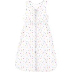 Domiva spací pytel pro děti Summer, 6 až 36 měsíců, bílo/růžový