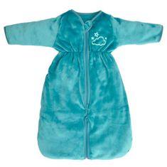 Doux Nid spací pytel pro děti s odnímatelnými nohavicemi, do 6 měsíců, 70 cm, modrý