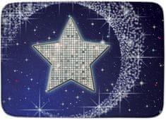 House of Kids Dětský koberec Hvězda Ultra Soft 100x150 modrý