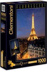 Clementoni Puzzle fluorescentní Paříž 1000 dílků