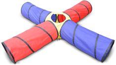 Knorrtoys Dětský hrací tunel prolézací s křížením 250x250 cm