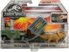 Matchbox Matchbox Dinokáry Jurský svět Tricera-Tracker