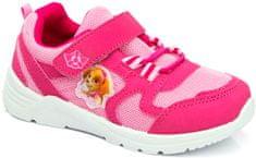 SETINO Dívčí tenisky Paw Patrol Skye svítící LED růžové Velikost: 24