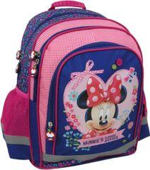 Derform Školní batoh Minnie Mouse ergonomický 38cm růžový