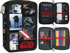 Derform Dvoupatrový penál Star Wars Mozaic plný