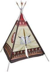 Knorrtoys Dětský hrací stan teepee / indiánské týpí