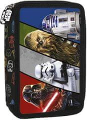 Derform Dvoupatrový penál Star Wars faces