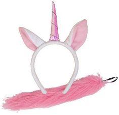 Wicked Dětská karnevalová čelenka jednorožec a ocásek