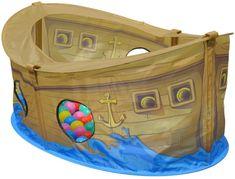 Knorrtoys Dětský hrací stan bazén Skipper s míčky 50ks