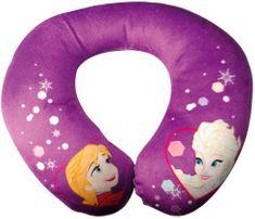 Kaufmann Dětský cestovní polštářek Frozen Anna a Elsa