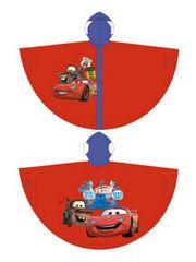 Arditex Dětská pláštěnka pončo Cars červená Velikost: 8 let