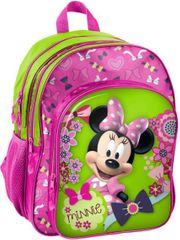 Paso Školní batoh Minnie Mouse Spring ergonomický 38cm růžový
