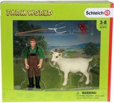 Schleich Schleich Farmář s kozou 42375