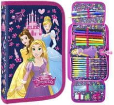 Derform Jednopatrový penál Disney Princess plný rozkládací