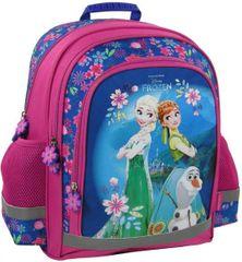 Derform Školní batoh Frozen ergonomický 38cm růžový