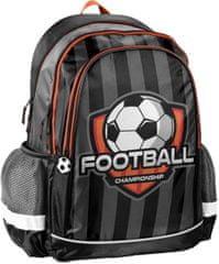 Paso Školní batoh Fotba ergonomický 42cm černý