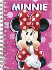 Derform Kroužkový blok Minnie Mouse A6
