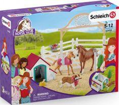 Schleich Schleich Hostující koně, Hannah s fenkou Ruby 42458