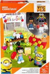 MEGA BLOKS Stavebnice Mega Bloks Mimoni Agnes prodává hračky 70 dílů