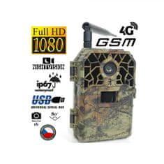 BUNATY Fotopasca WIDE FULL HD GSM 4G + 32 GB SD karta, 8 ks batérií, kovový ochranný box, kempingová sada a doprava ZADARMO!