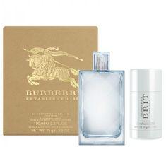 Burberry Brit Splash For Him - EDT 100 ml + tuhý deodorant 75 ml