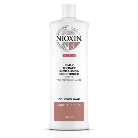 Nioxin Skin Revitalizer za globo obarvan rahlo redčenje las System 3 (Conditioner System 3 ) (Obseg 300 ml)