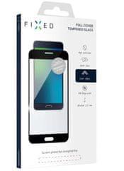 Fixed Ochranné tvrzené sklo Full-Cover pro Honor 8S, lepení přes celý displej, černé, FIXGFA-422-BK