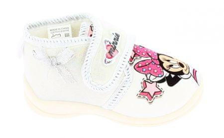 Disney by Arnetta dječje papuče Minnie 27 bijela