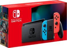 Nintendo Switch igraća konzola, crvena/plava