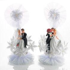 Svatební figurka na dort 1ks 170x270mm