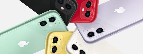Apple iPhone 11, wyświetlacz Liquid Retina HD, wyświetlacz TrueTone, wierne kolory, wysoka rozdzielczość, duży wyświetlacz, łagodny