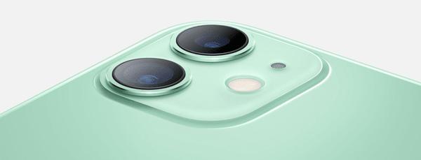 Apple iPhone 11, podwójny ultraszerokokątny aparat ulepszony tryb nocny optyczna stabilizacja obrazu Smart HDR