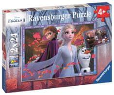 Ravensburger Puzzle 050109 Disney Ľadové kráľovstvo 2 2x24 dielikov