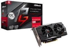 ASRock Phantom Gaming D OC Radeon RX 570, 8 GB GDDR5 grafična kartica