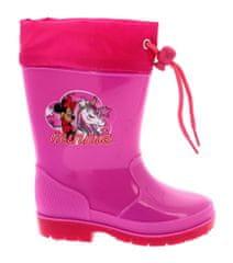 Disney by Arnetta dievčenské gumáky Minnie
