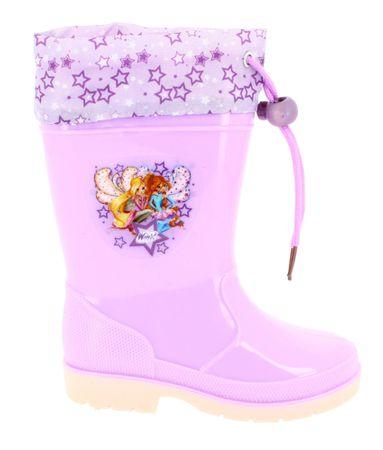 Disney by Arnetta Winx dekliški škornji, vijolični, 23