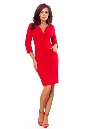 Numoco Női ruha 269-1, piros, L