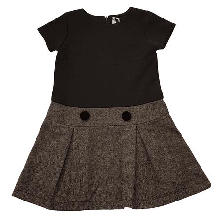 North Pole lány ruha 8Y szürke/fekete