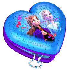 Ravensburger 3D Puzzle 121205 Srce Disney Ledeno kraljestvo 2, 54 dijela